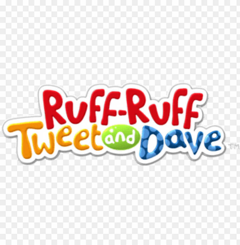 Download ruff ruff, tweet and dave logo clipart png photo.