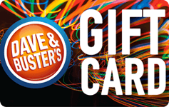 Dave & Busters Gift Card Balance.
