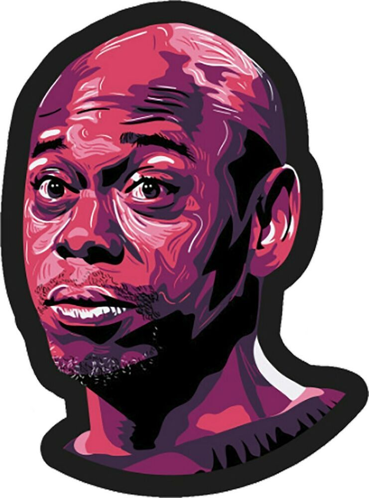 Dave Chappelle Sticker3.5 \