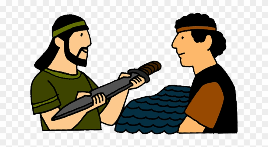 Jonathan Helps David Escape Mission Bible Class.