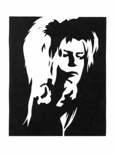 David Bowie Labyrinth Clipart.