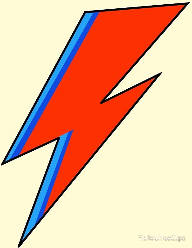 David Bowie Lightning Bolt.