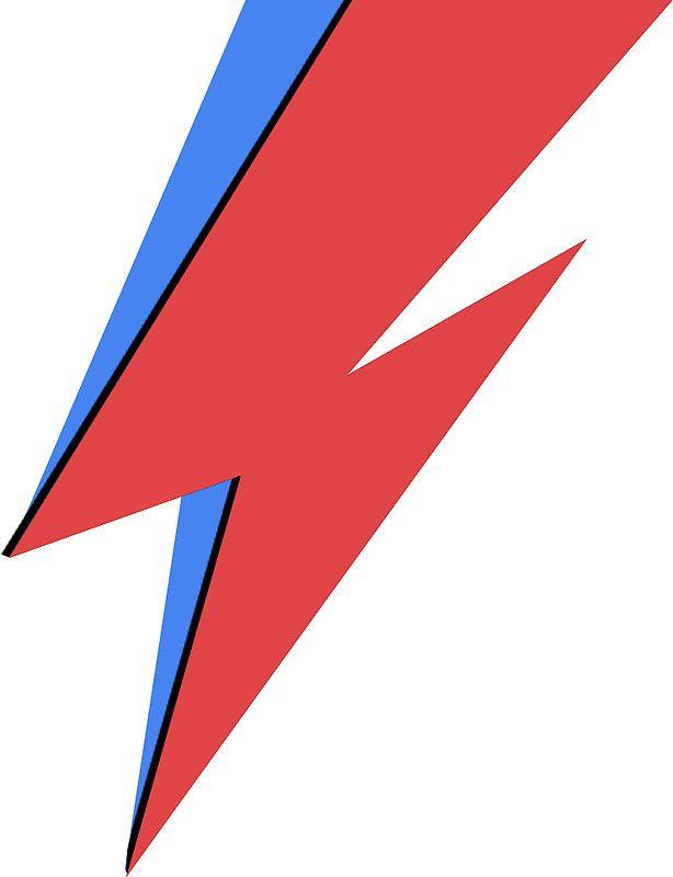 David Bowie Lighting Bolt.