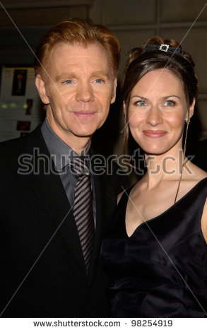 Actor David Caruso Wife Margaret 29th Stock Photo 98254919.
