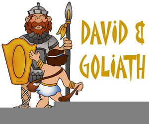 Free David And Goliath Clipart.