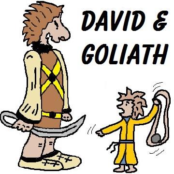 Goliath Clipart.