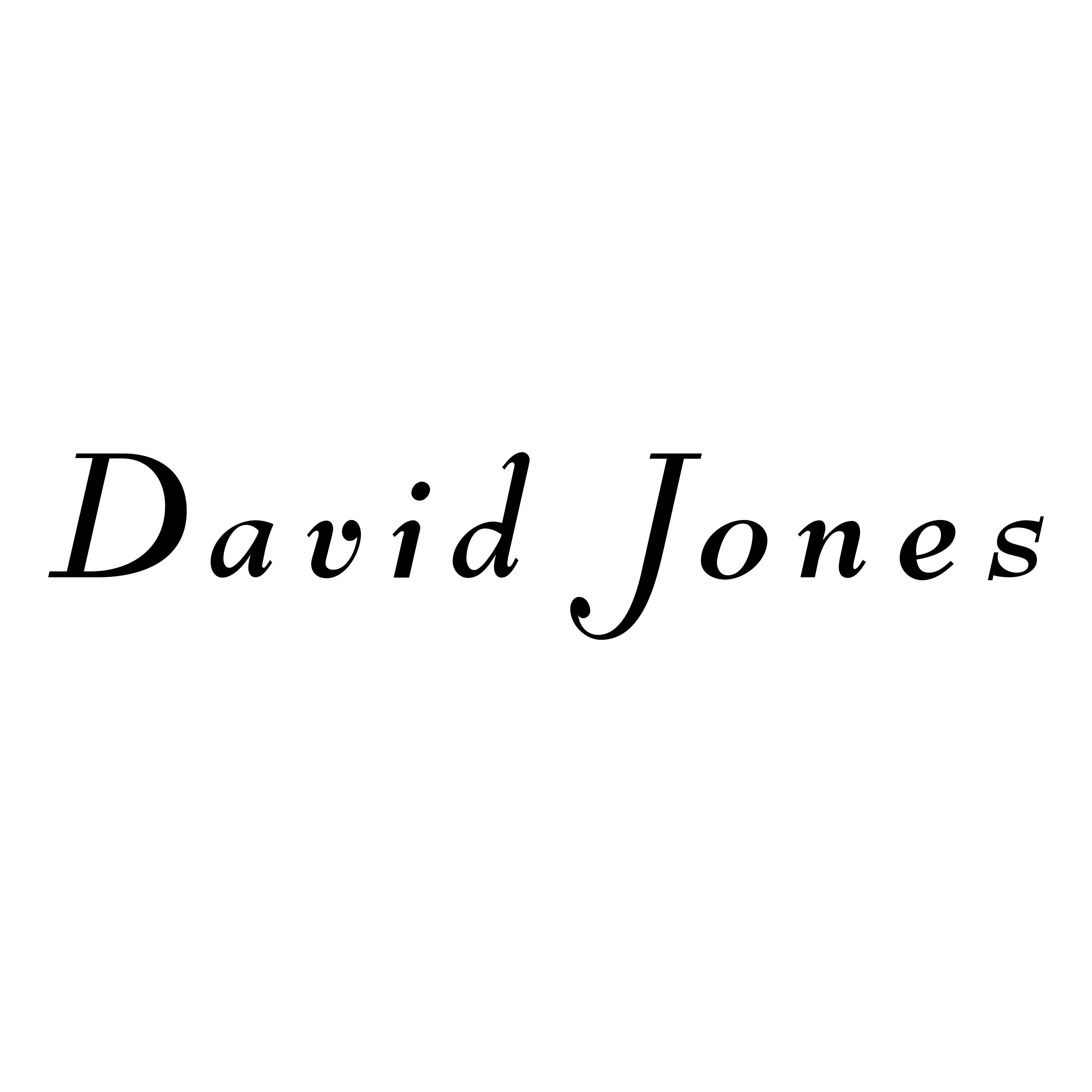 David Jones Logo PNG Transparent & SVG Vector.