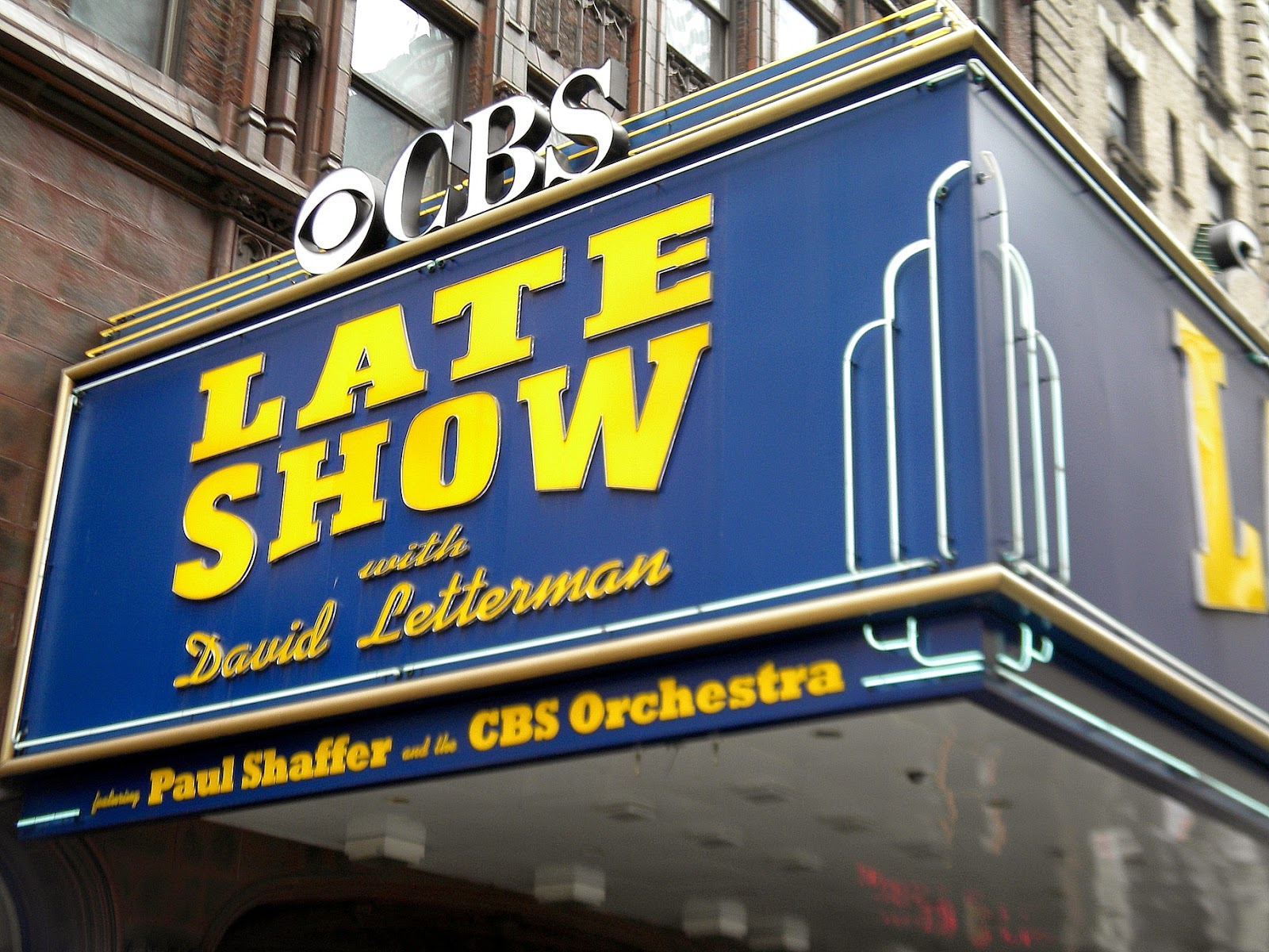 Late Night David Letterman Ed Sullivan Theater Clip Art Public.