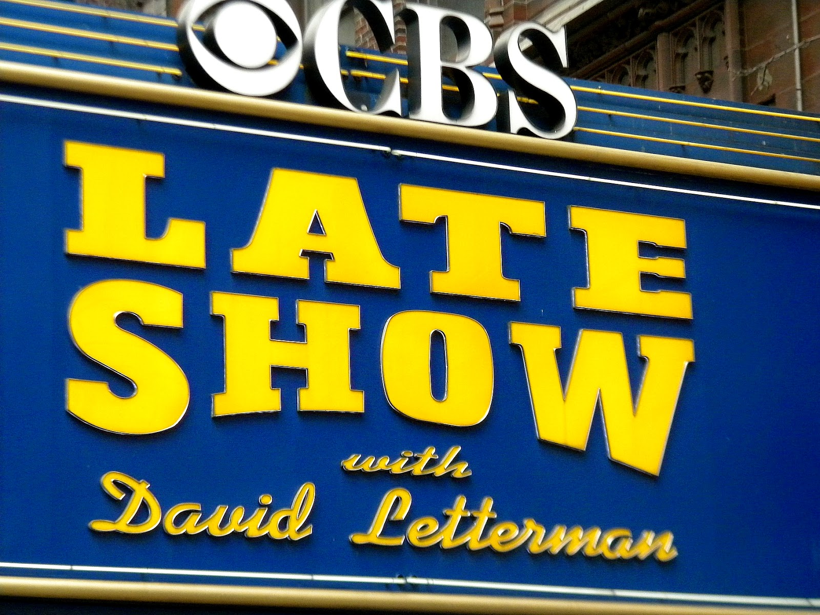Late Night David Letterman Ed Sullivan Theater Clip Art +Late Show.