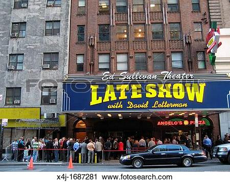 Stock Photography of Late Show with David Letterman x4j.