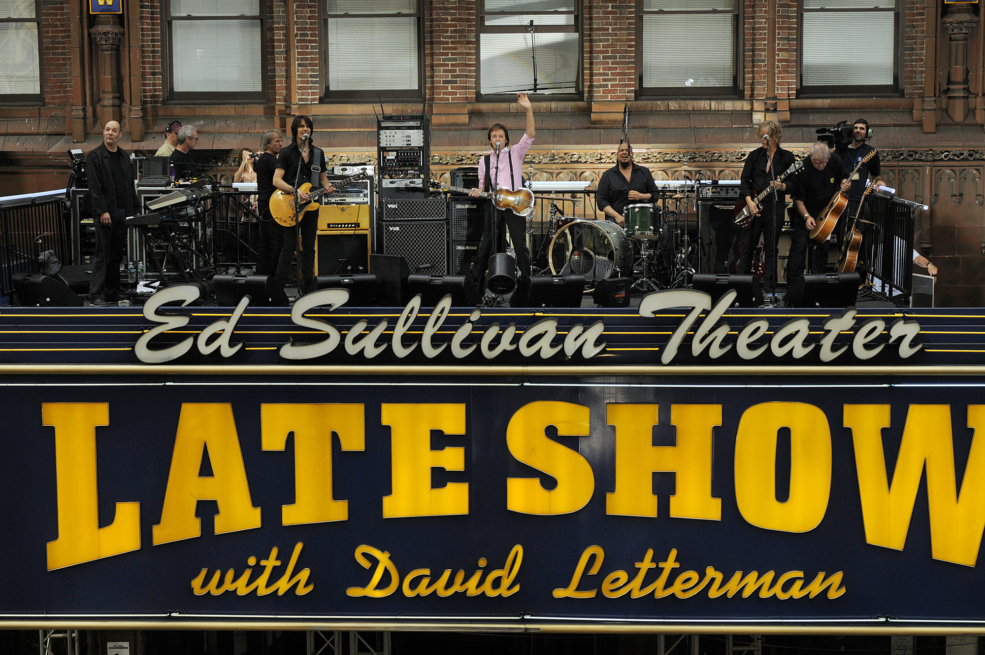 5 Best Bands to Play Late Night with David Letterman.