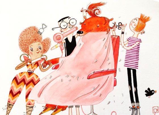 "david roberts"" illustration."