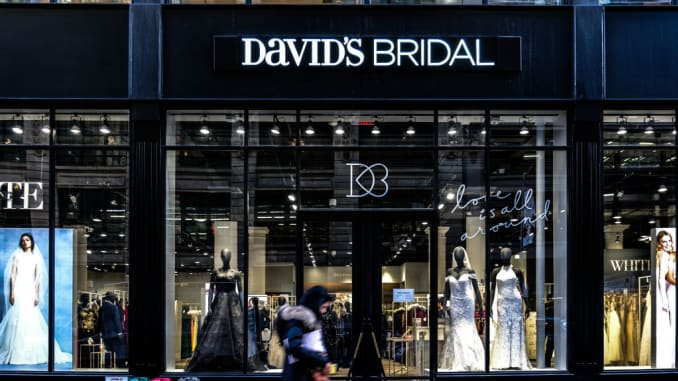 Millennial brides force David\'s Bridal to try something new.