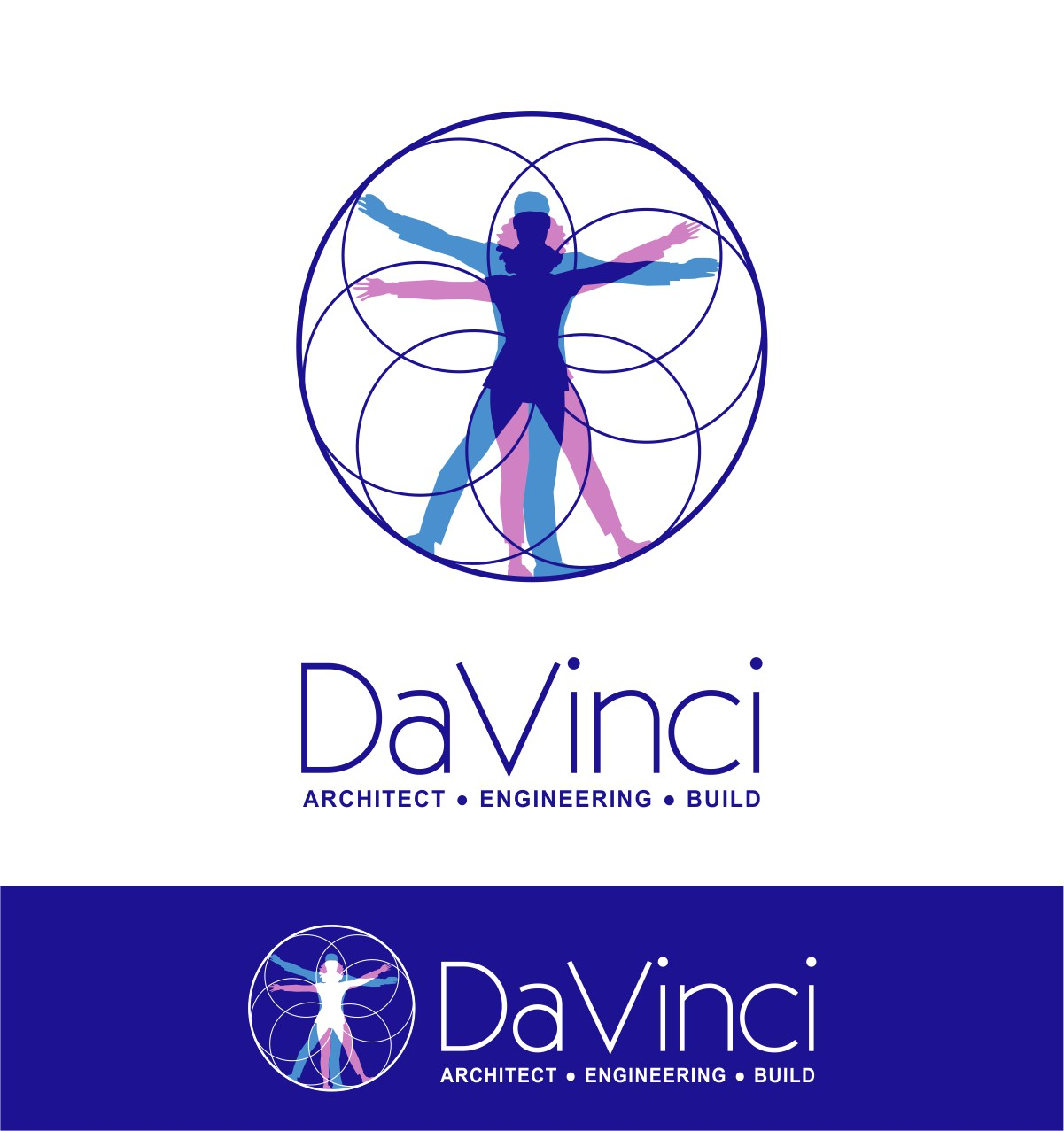 Elegant, Playful Logo Design for da Vinci with the words.