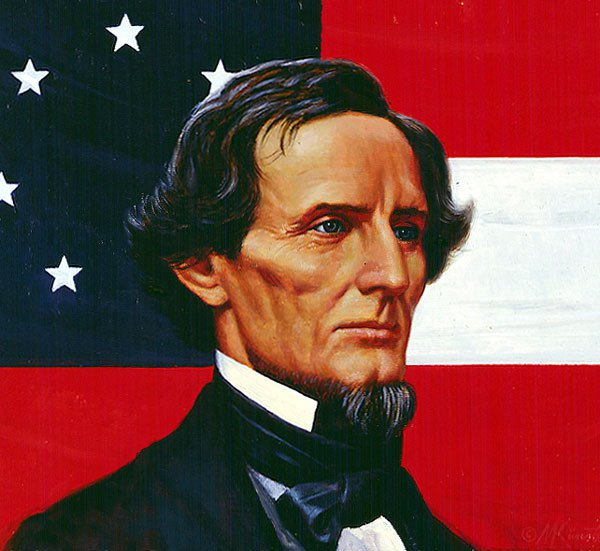 Jefferson davis clipart.