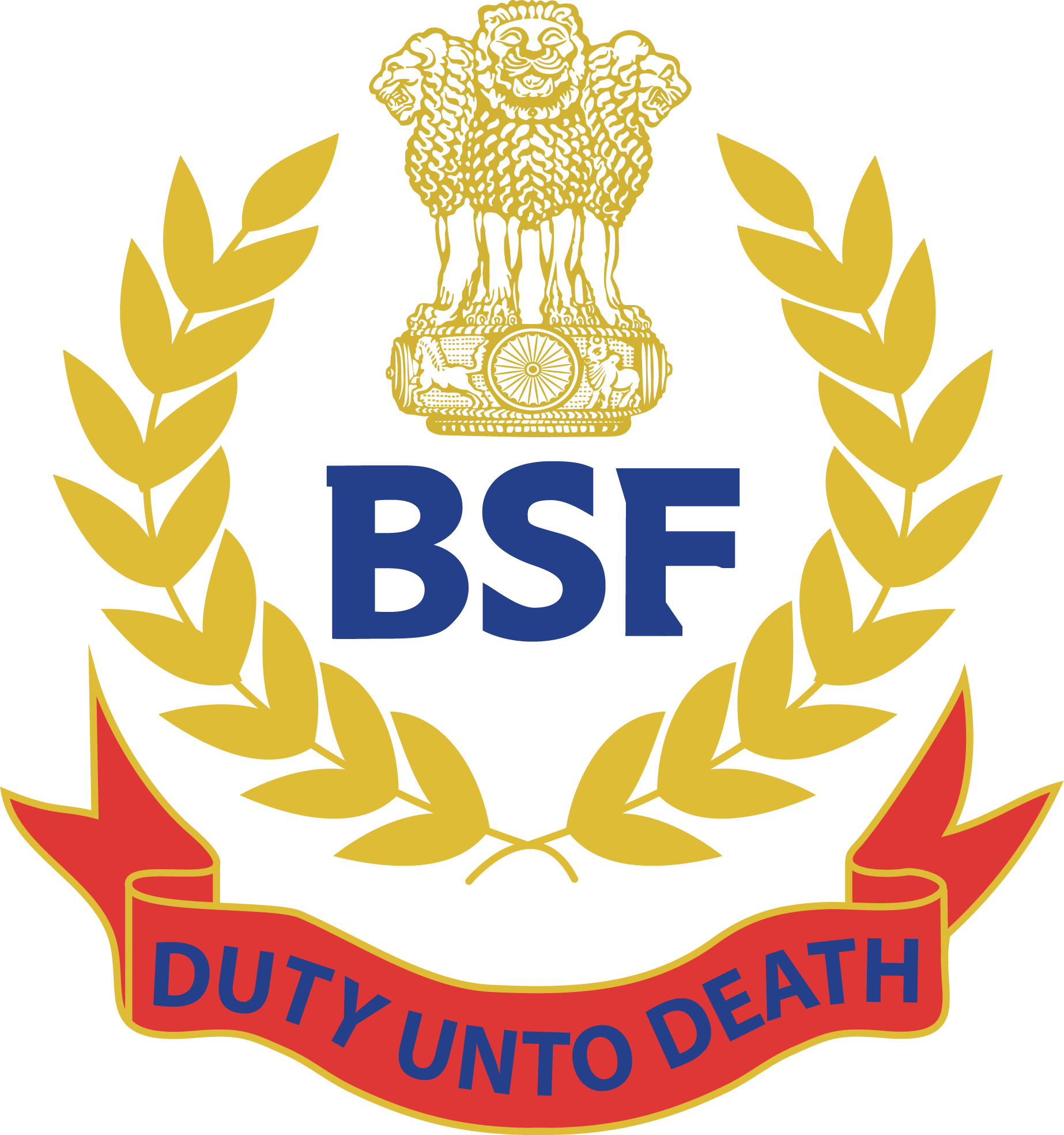 BSF Logo (Border Security Force) Download Vector.