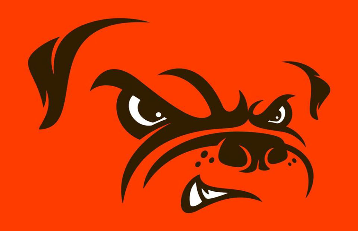 Browns Dawg Pound logo 2015 courtesy Cleveland Browns.