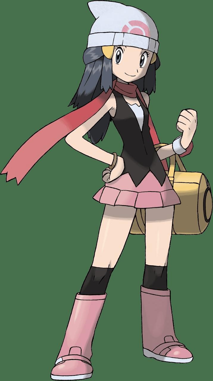 Dawn Pokemon transparent PNG.