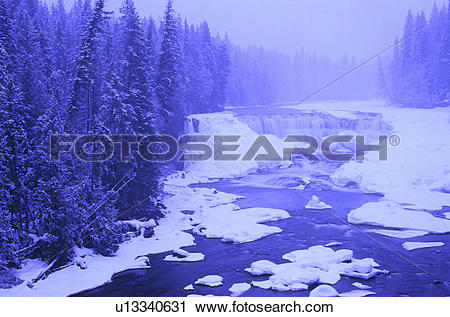 Stock Photography of Dawson Falls (20.