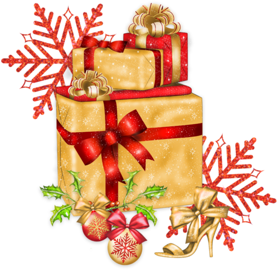 Presents Clip Art Boxes Gifts Tubes Noel Kersfees Christmas.