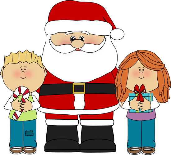 child's christmas clipart.