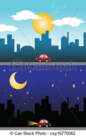 Day and night Vector Clipart Royalty Free. 10,544 Day and night.