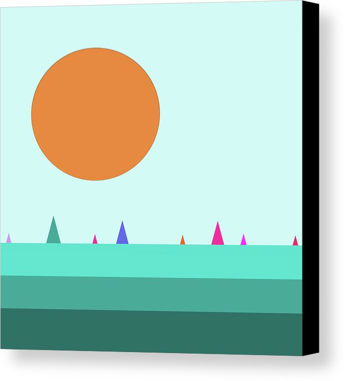 A Perfect Day Canvas Print / Canvas Art by Bill Owen.