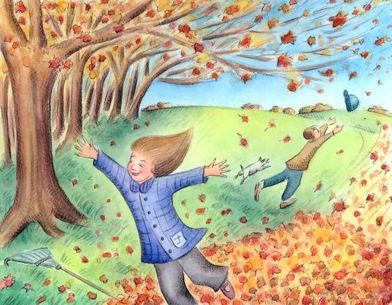 """Windy Day"""" by Jennifer Thermes."""