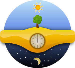 clipart of day times #4