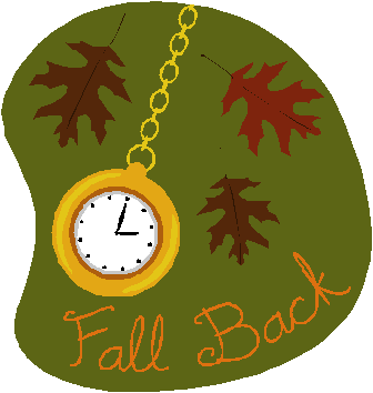 Clip art daylight savings time.
