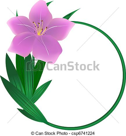 Day lily Vector Clipart Royalty Free. 980 Day lily clip art vector.