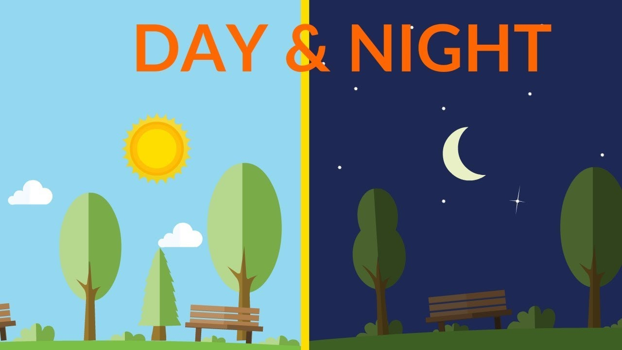Day And Night Clipart For Kids & Free Clip Art Images #24128.