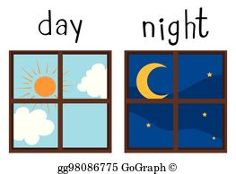 Day And Night Clip Art.