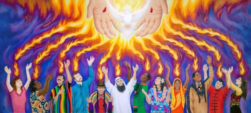 Clergy Confidential: Bad Pentecost Clip Art.