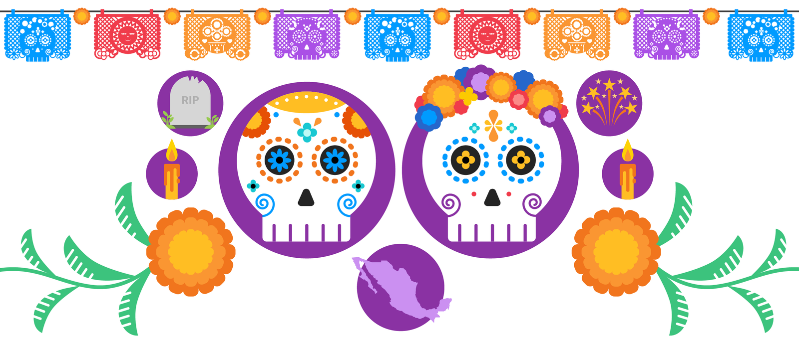 Day of the Dead: A visual guide to remembering loved ones in.