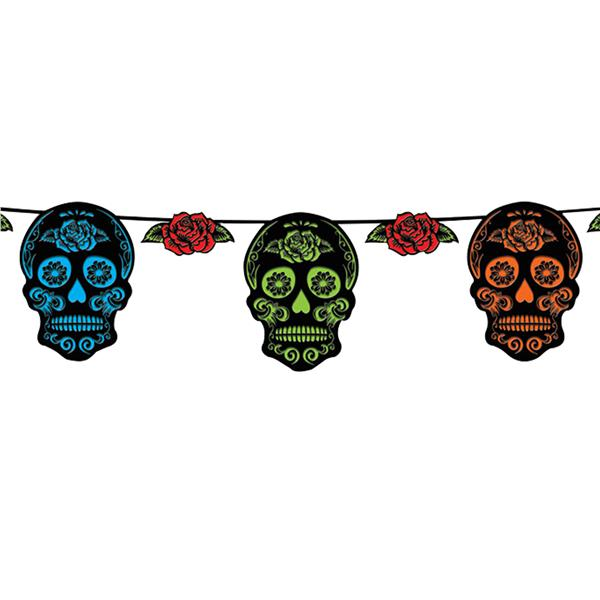 Day of the Dead 12\' Banner.