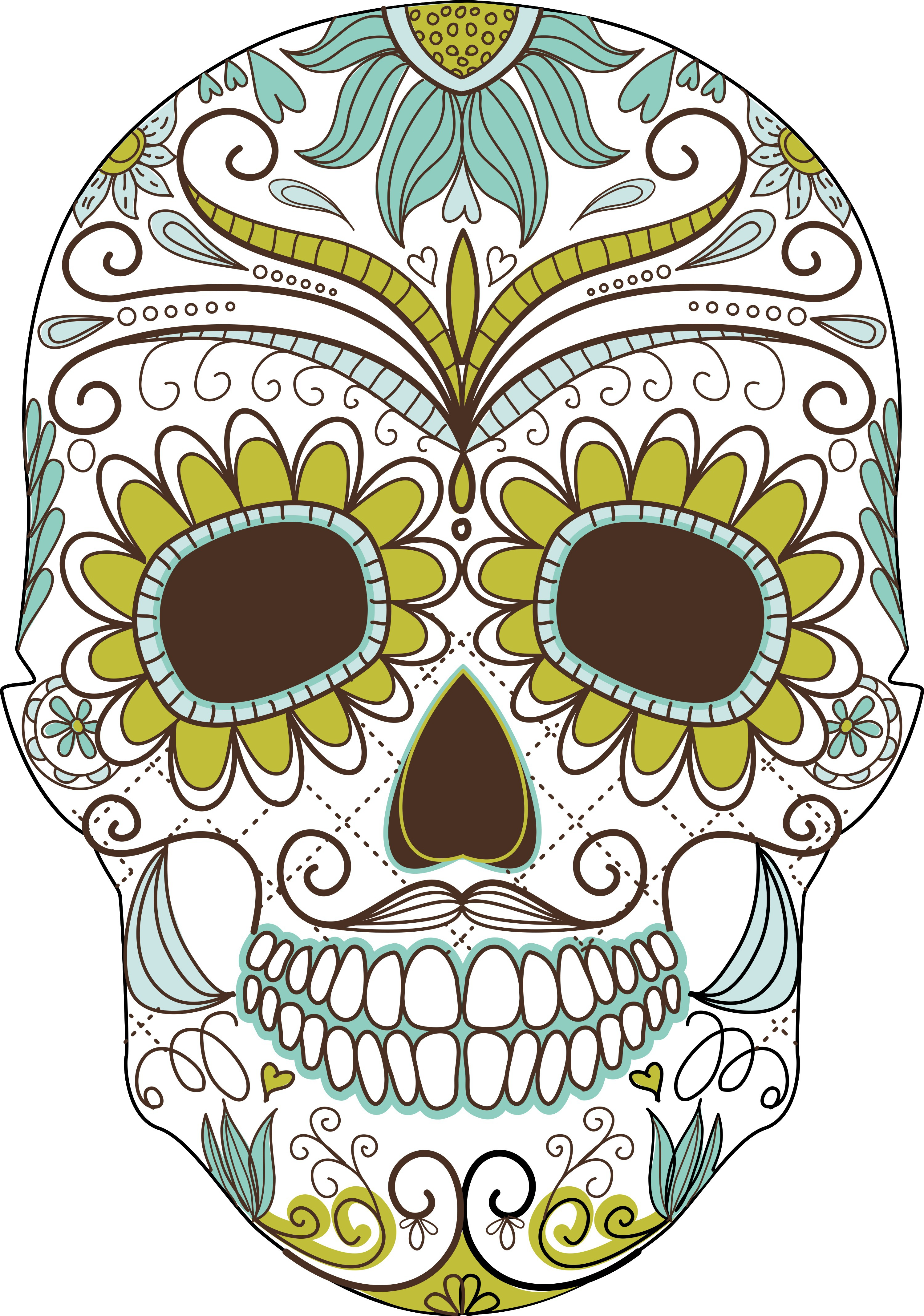 Day of the Dead Clip Art Free.