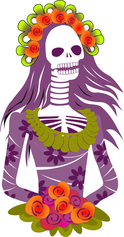 Day of the dead clipart - Clipground