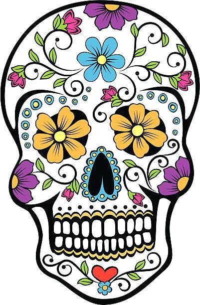 Flower clip art day the dead.