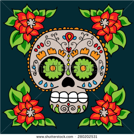 780 Day Of The Dead free clipart.