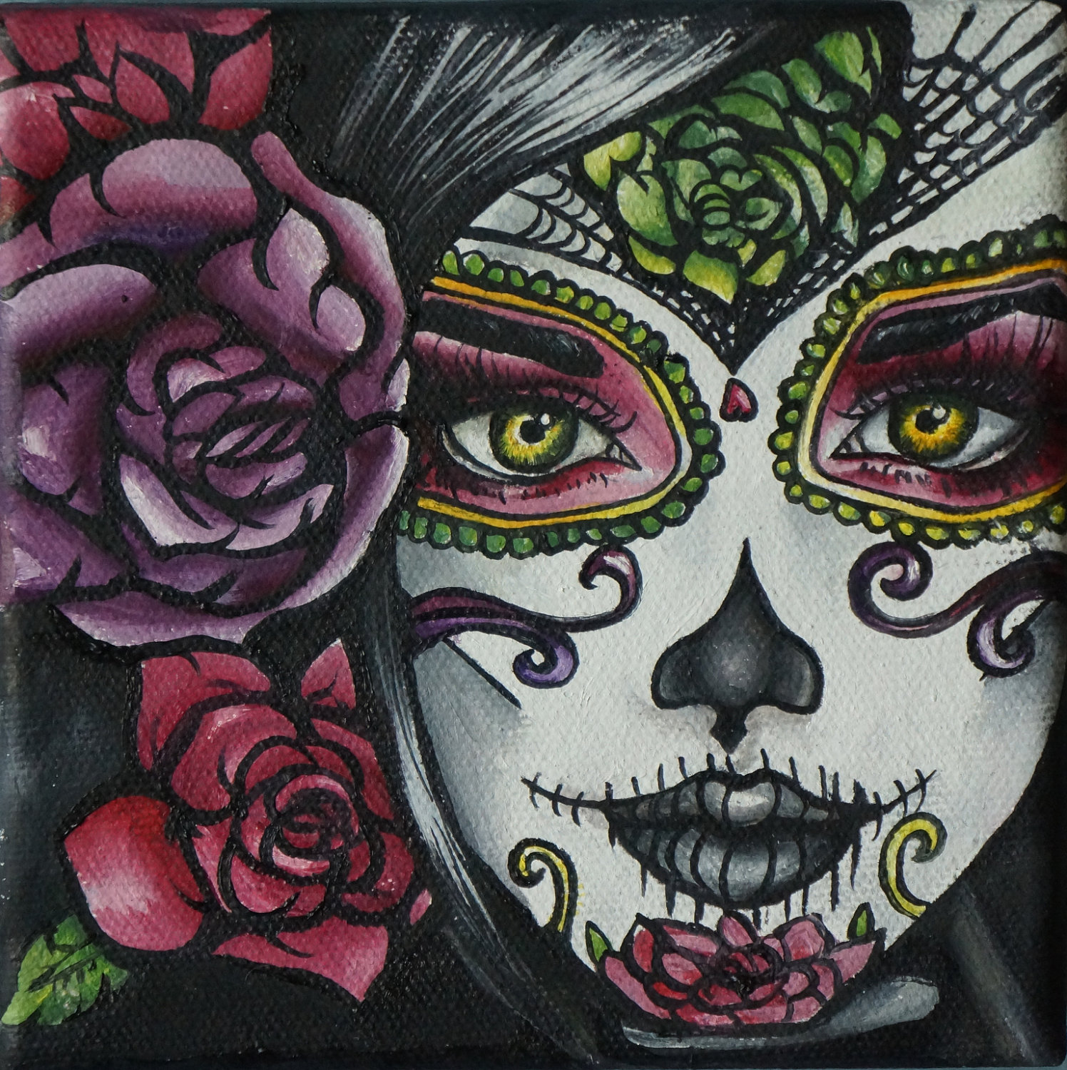 Day Of The Dead Girl Clipart.