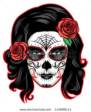 day of the dead girl clipart 20 free Cliparts | Download ...