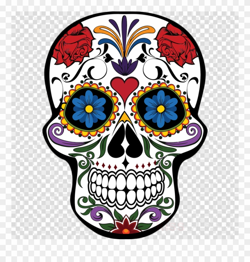 Download Mexican Day Of The Dead Skull Clipart Day.