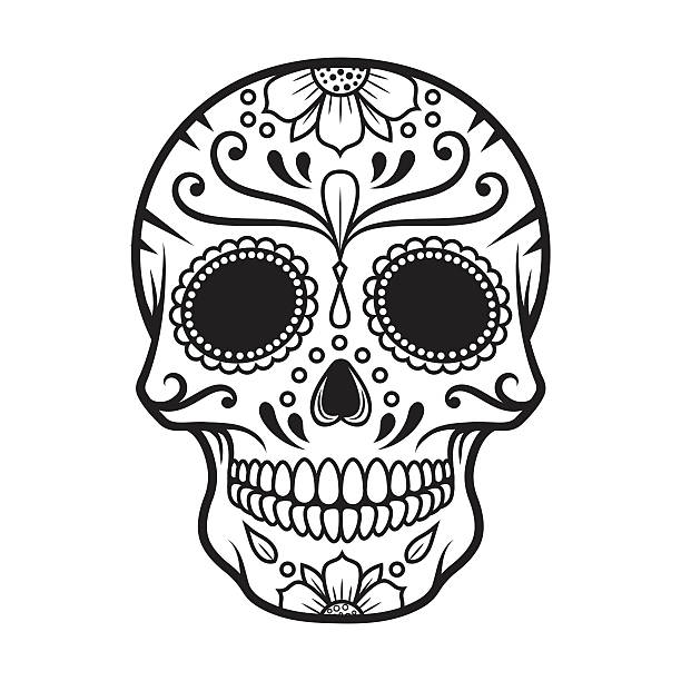 Best Day Of The Dead Illustrations, Royalty.