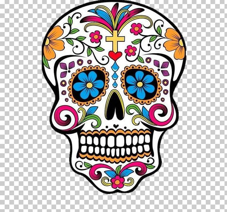 Calavera Day Of The Dead Skull PNG, Clipart, Art, Artwork, Bone.