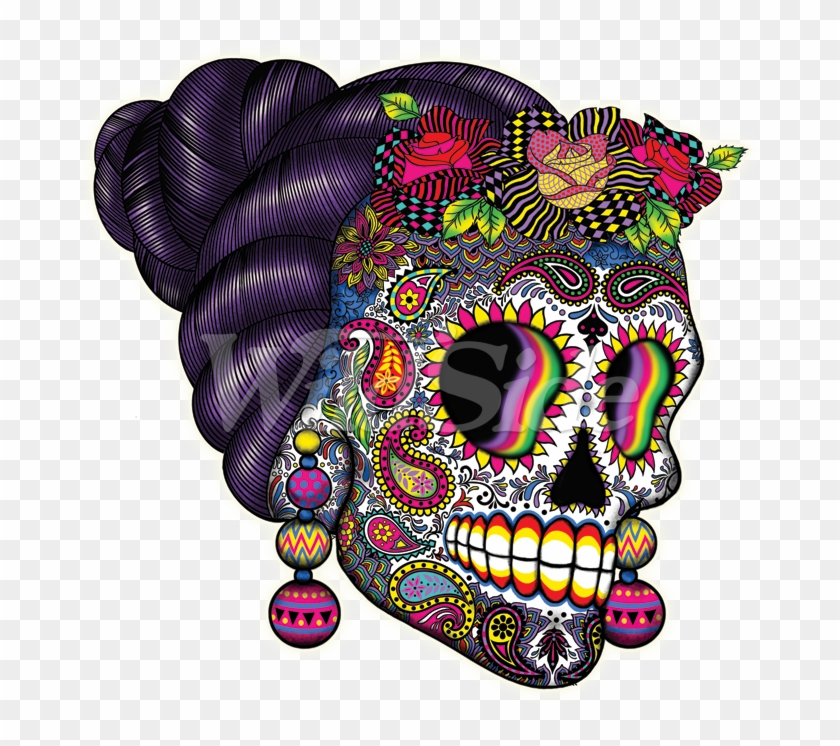 Day Of The Dead Skull.