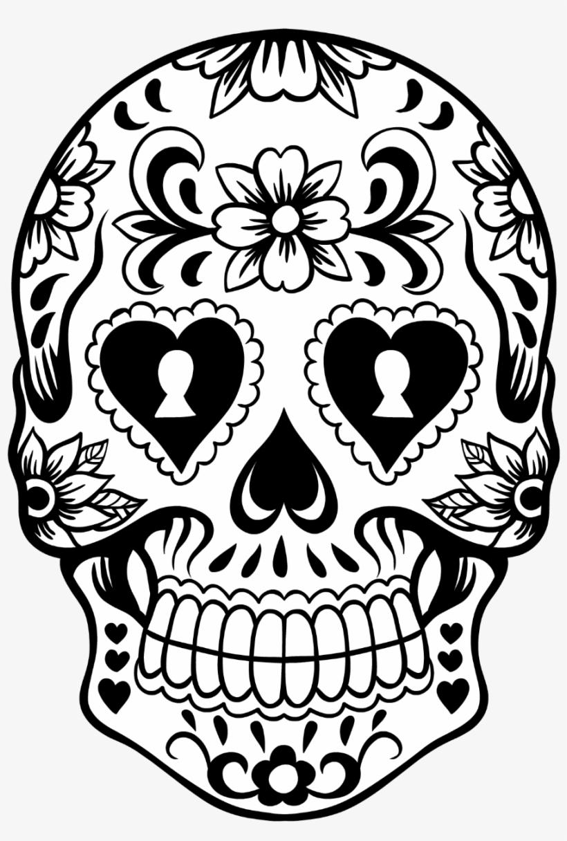 Sugar Skull Wreath.