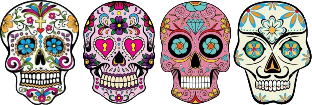 Sugar Skulls & The Day of The Dead.