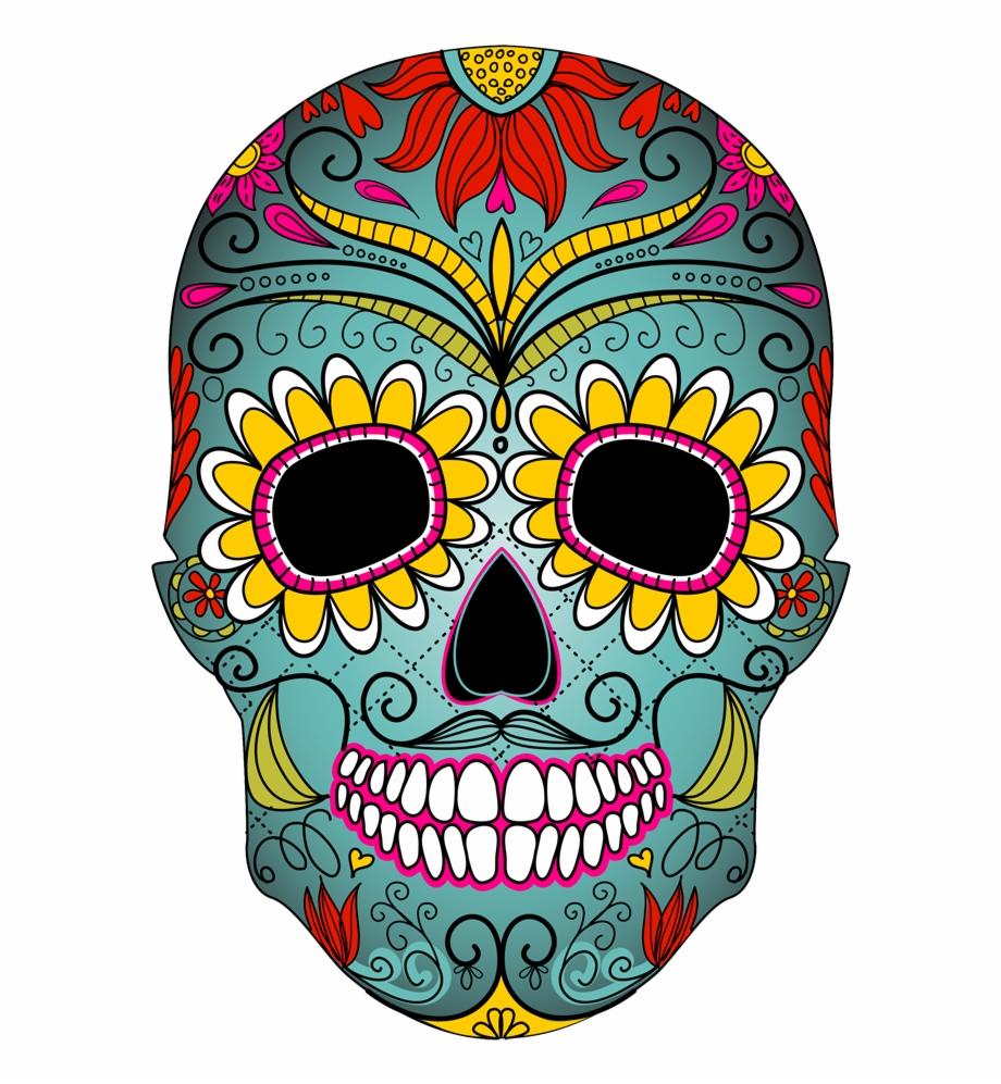 Day Of The Dead Skull.
