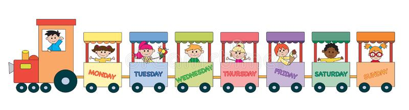 Day Week Stock Illustrations.